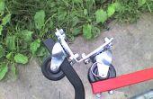 Aufbau einer starken flexiblen Fahrrad Anhänger Kupplung.
