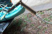 Sitzen auf Kajak Pedal-System