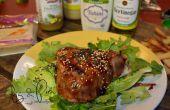 Gelbflossen-Thunfisch-Salat gebratene