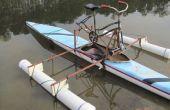 Tragflächenboot Fahrrad