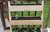 Vertikale Neigung Pflanzer