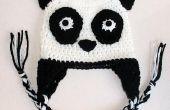 Panda Bear Ohrklappe Hut