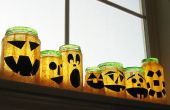 Recyceltes Glas Jack Lantern!