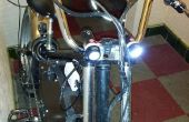 Stromversorgung über USB Fahrrad Beleuchtung Frontensystem