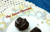 Chai Spiced hausgemachte Schokolade