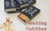 Tafel Matchbox Gnaden Hochzeit