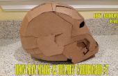 #7 1/3 Iron Man Mark 42 Karton - DIY Abdellah - wie Helm,