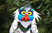 Makedo Pavian Maske