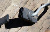 Wiederverwendung von Verwendung für eine alte Bungee Kautschukband (DIY-Projektidee)