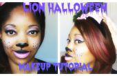 Lion Halloween Make-up | GRWM
