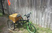 Elektro Trike mit bmx-front-End.