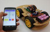 Smartphone gesteuert Arduino Rover