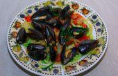 Sehr lecker, sättigend & gesunde Meeresfrüchte Pasta