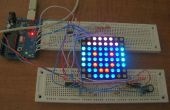 Arduino powered drei Farbe 8 x 8 Led Array