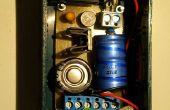 Praktische Dynamo Fahrradbeleuchtung und USB-Ladegerät