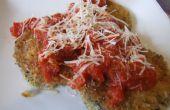 Einfach Auberginen Parmesan