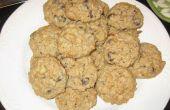 Gesunde Chocloate Chip Haferflocken Cookies