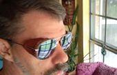 Seitenschutz für Sonnenbrillen Leder