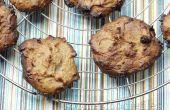 Vegan glutenfrei dreifach Kokos Mandel butter weich Cookies!