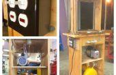 Aufbau einer kleinformatigen Vacuumformer aus einem alten Toaster Ofen