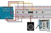 Gewusst wie: verwenden Sie WTV020SD - 16p mit Arduino