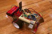 Zeile nach Arduino Roboter