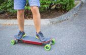 Elektro Skateboard V2. 0: Smartphone Controlled
