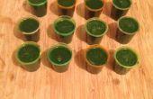Popeye-Aufnahmen (Spinat und Miesmuschel-Suppe)