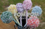 Ausgefallene Pom Pom Stifte!  Ein großes Weihnachtsgeschenk für Kinder zu machen!