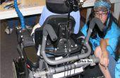 Fabrizieren, konfigurieren und installieren ein Backup-System-Kamera auf einen Rollstuhl
