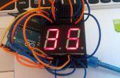 Arduino einfache 7-Segment-Countdown-Timer