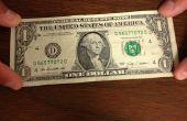 Wie erstelle ich ein Bowie aus einer Dollarnote