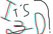 3D Anaglyphen Text