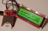 Verkabelung und die Programmierung der elektrischen Imp mit einer LCD-Anzeige