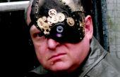 Halloweenmaske Cyborg 1/4