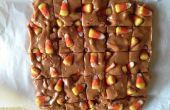 Candy Corn und Brezeln Fudge