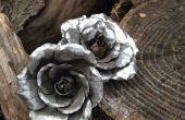 Die Blechdose Rose