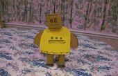 Wie erstelle ich ein 3D Instructables-Roboter aus Pappe
