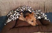 Bett mit abnehmbaren Decke Hund