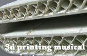3D Druck Musikinstrumente