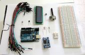 Thermohygrometer mit Uhr und LCD-Display auf Arduino UNO