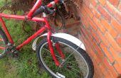 DIY Bike Kotflügel