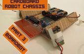 Karton-Chassis für billige Roboter 3: Boardbot