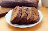 Melasse Birne Butter Brot