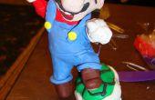 Super Mario Brothers Polymer Clay Skulptur