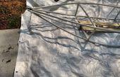 PVC-Rohr + plane Kajak