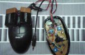 Bend/Hack eine optische Maus, Oberflächenstrukturen zu hören.
