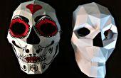 Bonus: Papercraft Skull Maske