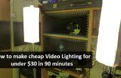 Wie erstelle ich billige Video Beleuchtung [für weniger als $30]