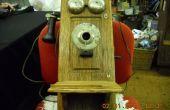 (2) antike Kurbel Telefon Hack